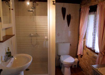 Downstairs shower bathroom