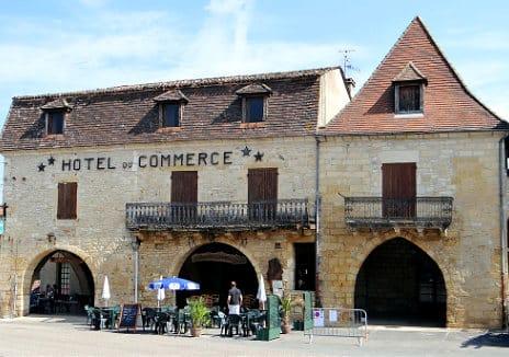 Villefranche-du-Périgord, Hotel du Commerce